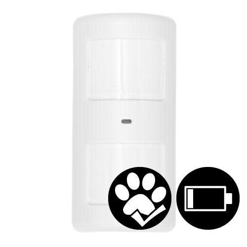 Köp Sikkerthjem Trådlös rörelsedetektor - Husdjurssäker <25 kg