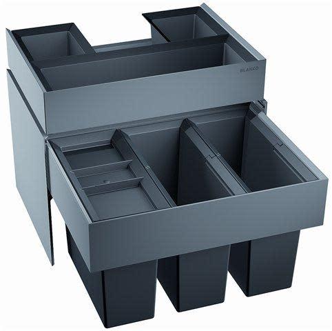 Köp Blanco Select 60/3 Orga 3 Hinkar + Låda - Montering på Skåpslucka