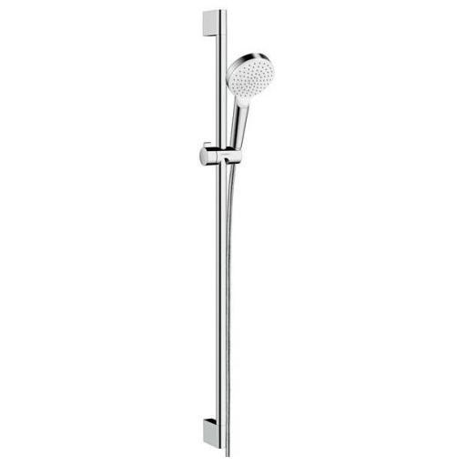 Köp Hansgrohe Crometta 1jet duschset 90 cm - Vit/Krom