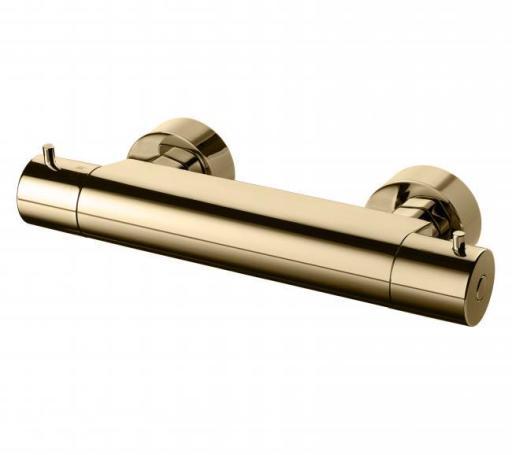 Köp Tapwell Evo Duschblandare m/Termostat 150 c/c, Mässing