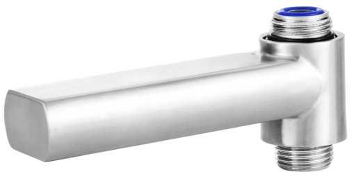 Köp Primy Steel Expression 3 badkarspip med inbyggd omkastare - Rostfritt stål