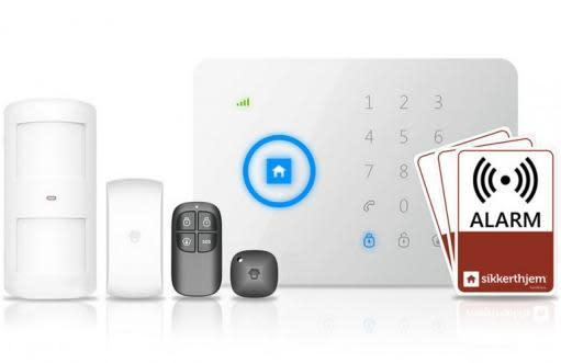 Köp Sikkerthjem Komplett Larmsystem - Lägenhetspaket [S5-Touch]