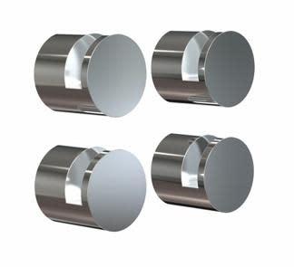 Köp Frost Nova spegelbeslag, 4 st - Polerat rostfritt stål