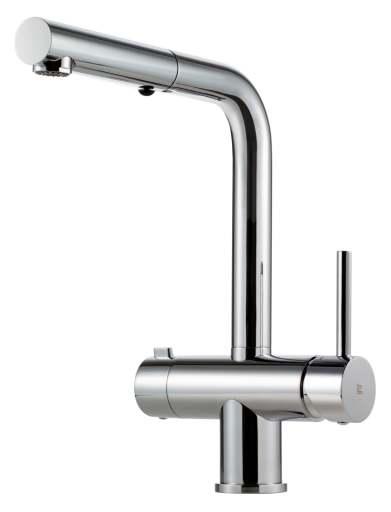 Köp Tapwell Stick Köksblandare m/Utdragbar handdusch & diskmaskinsavstängning, Krom
