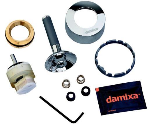 Köp Damixa reperationsset - krom / grå til Arc