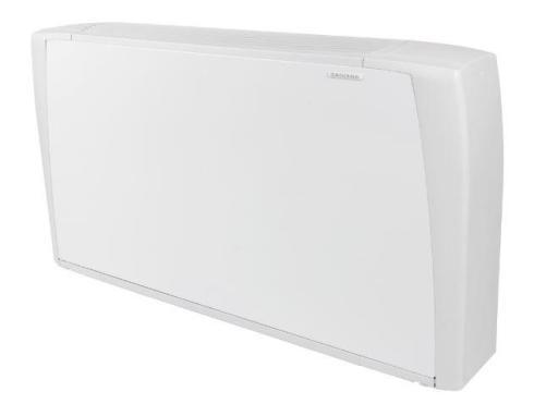 Köp Eveco fläktkonvektor 230 V, 1,4 kW/+50°C framtemp.
