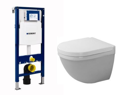 Köp Duravit Starck 3 compact paket med hög cistern och softclose sits -  dold montering