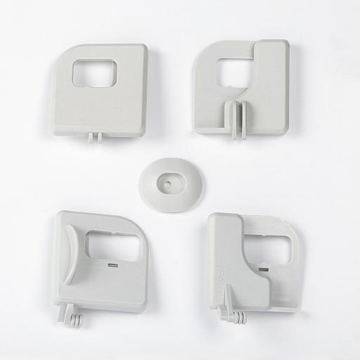 Köp IDO Styrningssats till dusch 6-1/10/3/5 Silverfärgad