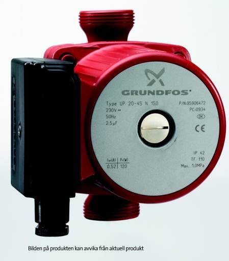Köp Grundfos VVC-pump UP20-15N, 150