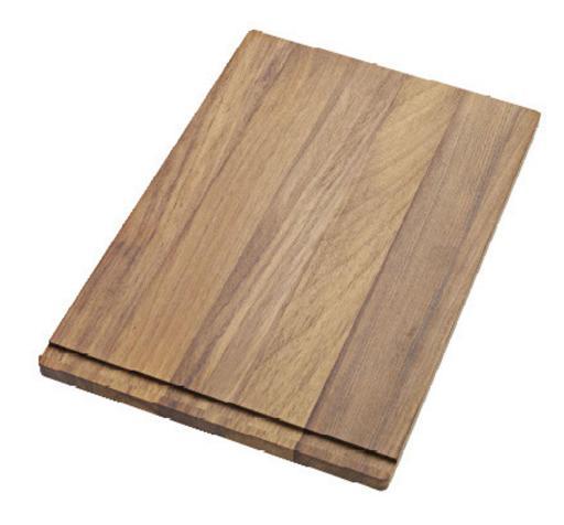Köp Ifö beredningsbräda/serveringsbricka 34,5x51,5 cm i odlad teak BP34