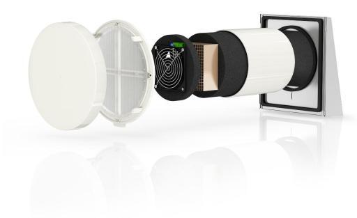Köp Pax Mistral iV14R ventilation med värmeåtervinning