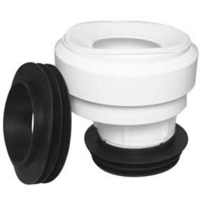 Köp WC-anslutningar Faluplast Vit