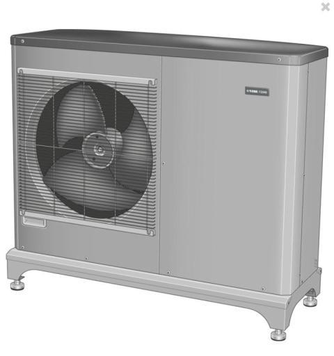 Köp Nibe F2040-12 luft/vatten-värmepump