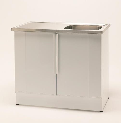 Köp Nimo Tvättbänk NB 1000 L 100x60 cm, Lådplacering höger, Vit