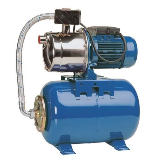 Köp Prisma pumpautomat PPT 1300 i rostfritt stål - 25 liter