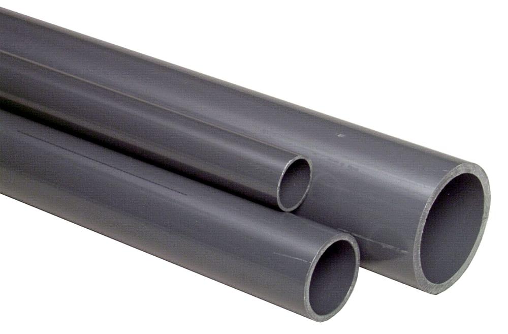 Ultra Køb GF PVC-rør 50 mm - 5 meter 063214050 ZE67