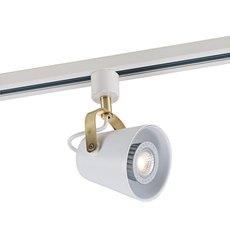 Moderne Køb Nordlux Fez spot til Link strømskinne i hvid 86169901 HF08