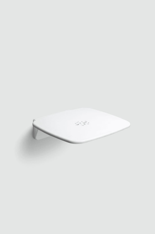 Kæmpestor Køb HeFe Gedy klapsæde i hvid/hvid 608302 CL31