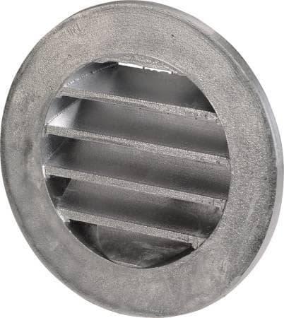 Massivt Køb Udluftningsrist Ø 100 mm, støbt aluminium 354024100 CP56