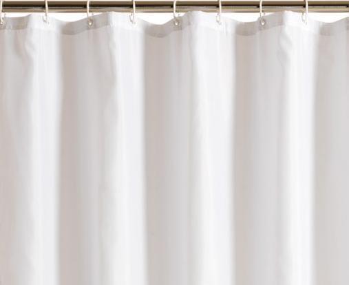 Opdateret Køb Unicolor Hvidt Bruseforhæng 180 x 200 cm 777441180 DY22