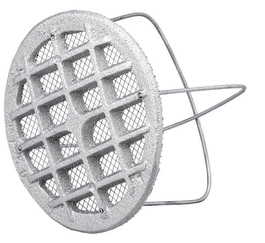 Ungdommelige Køb Duka ventilrist - Ø 110 mm, støbt i aluminium 809933 KX78