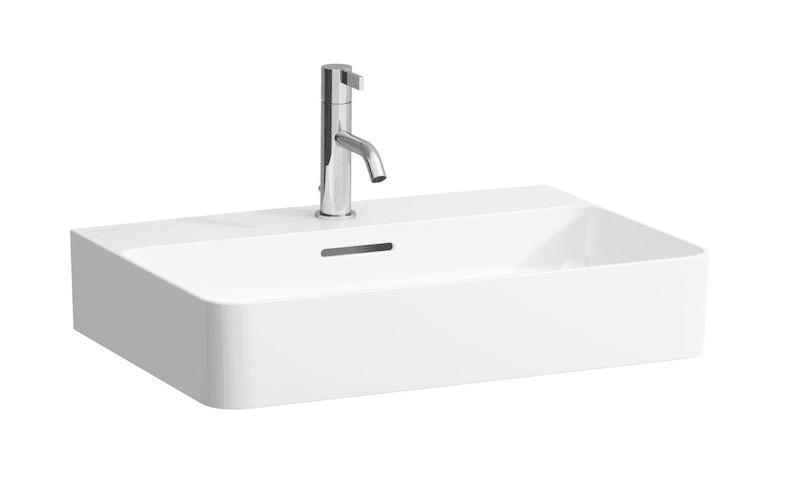 håndvask Køb Laufen VAL håndvask 60 x 42 cm med hanehul og overløb 626993000 håndvask