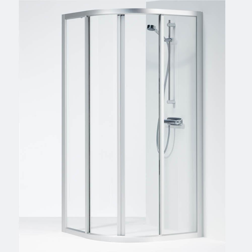 Underbar Köp Ifö Solid Duschvägg SVR 90X90x195cm Klart glas/Aluminium OY-47