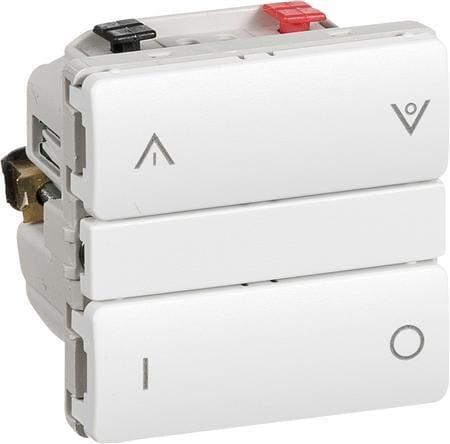 Enormt Køb LK IHC Wireless Kombi lysdæmper, 250W, 1 modul, Hvid 1017044582 HV63