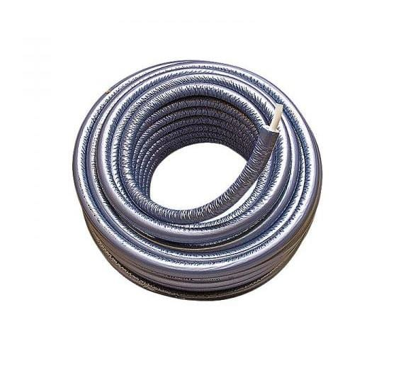 Uponor alupex rør m/13 mm isolering 16 mm - Rulle á 75 meter