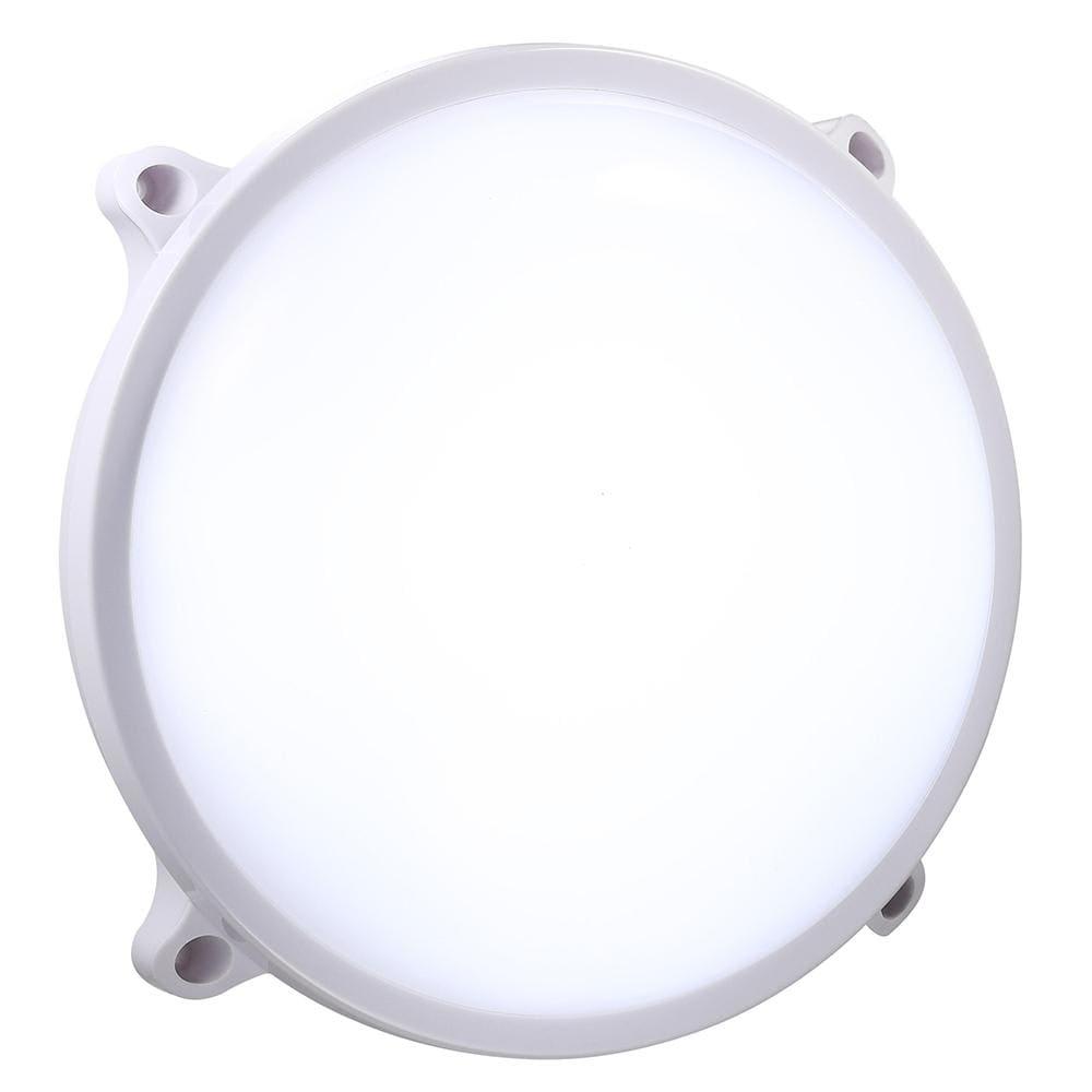 Fremragende Køb Nordlux Moon udendørs væg/loftlampe LED i hvid 83571001 PU75
