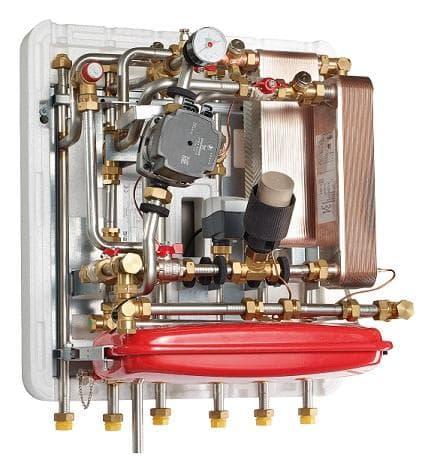 Kæmpestor Køb METRO System 6 fjernvarmeunit med veksler på både vand og EH66