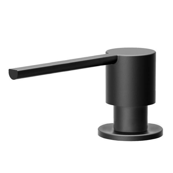 Lækker Køb Nivito Sæbedispenser, Rund, Mat sort 930091079 MZ-65