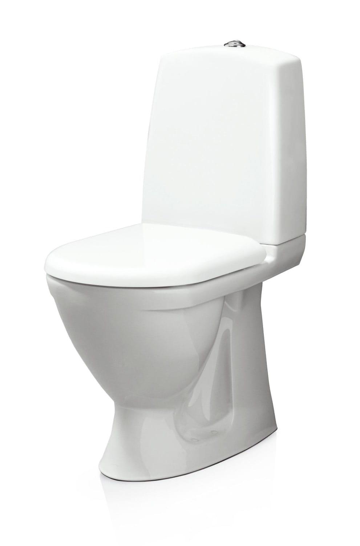 Køb Svedbergs WC 9085 m/S-lås og hvidt sæde 604217210