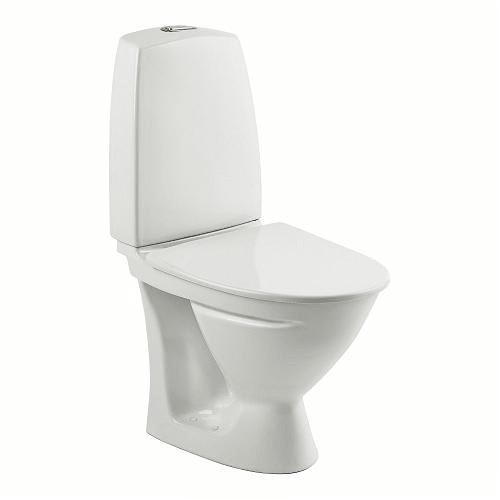 Køb Ifö Sign Toilet Compact m/P-lås & Ifö Clean, Skruemontering - 605x350 mm 601012200