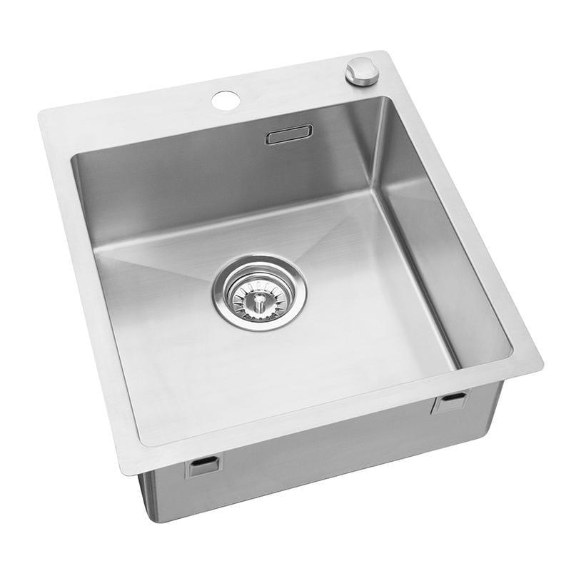 Fremragende Køb Cub køkkenvask 44,5 x 50 cm i rustfri stål PR4040 ID93