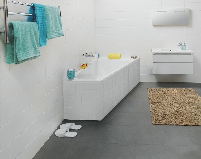 kjøpe badekar Kjøp Ifø Acryllic badekar 1600mm asymmetrisk med rett kant, høyre  kjøpe badekar