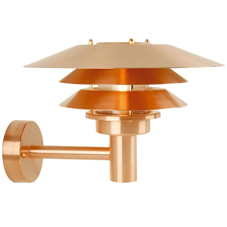 Fantastisk Køb Nordlux Venø Udendørs væglampe, Kobber 10600625 RS16
