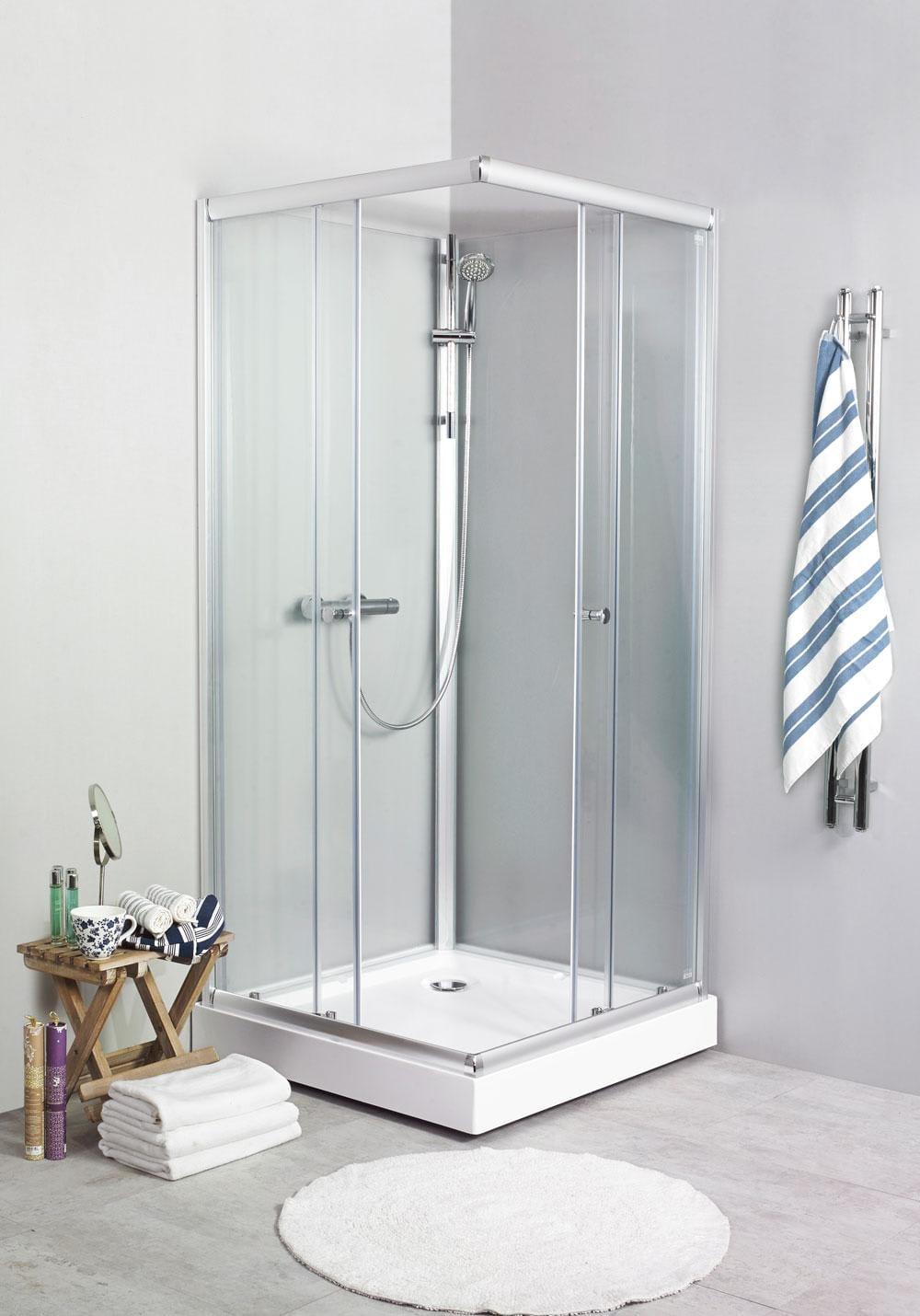 70x90 duschkabin