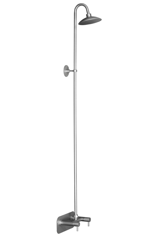 Køb EqiWater Væghængt Design Bruser, Rustfrit Stål 743470824