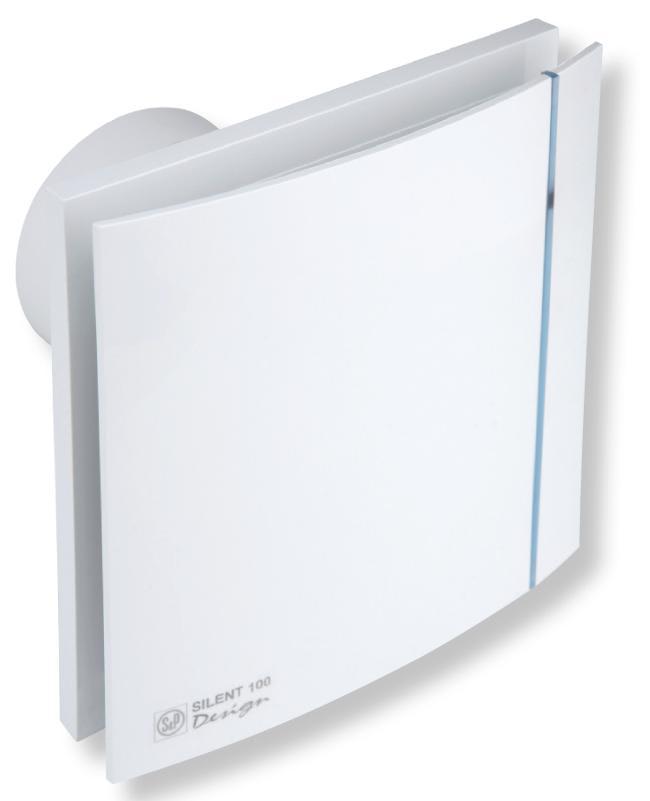 Køb Thermex Silent 100 Design CHRZ Ventilator med hygrostat & timer ...