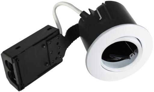 Billede af Nordtronic LOW Indbygningsspot - Quick Install-Hvid (Mat)