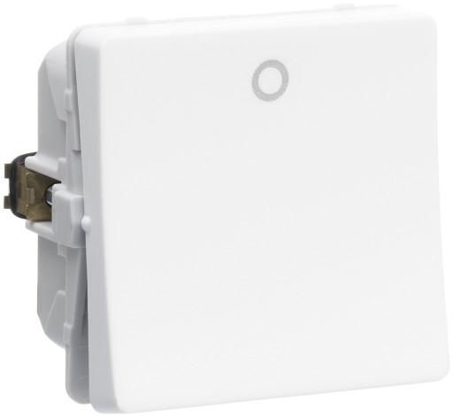 Billede af LK FUGA afbryder 2-pol 440V, 1 modul - hvid