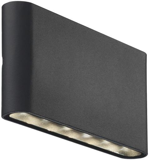 Nordlux Kinver Udendørs væglampe-Sort (Mat)