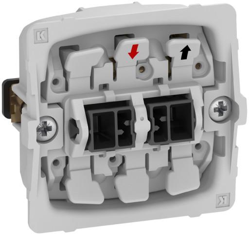 Billede af LK FUGA afbryder 1-pol, 1 modul - uden afdækning