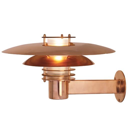 Billede af Nordlux Phoenix Udendørs væglampe - Kobber-Ø39 cm