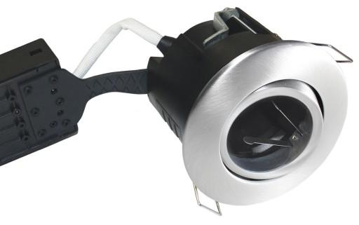 Billede af Nordtronic LOW Indbygningsspot - Uni Install-Aluminium