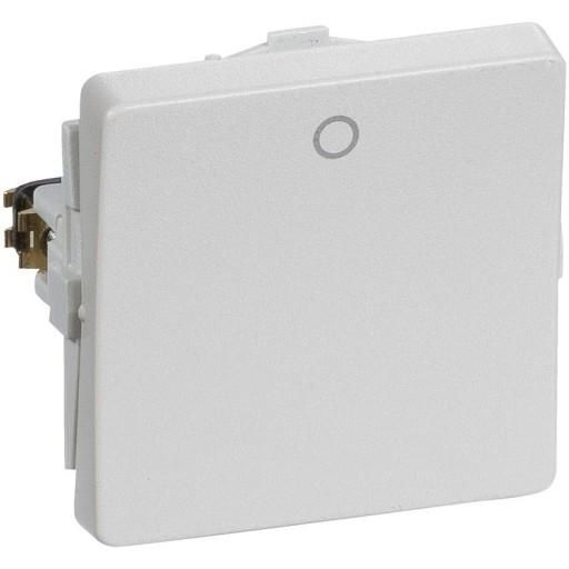 Billede af LK FUGA afbryder 2-pol 440V, 1 modul - lysegrå