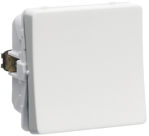 Billede af LK FUGA afbryder 1-pol, 1 modul - lysegrå