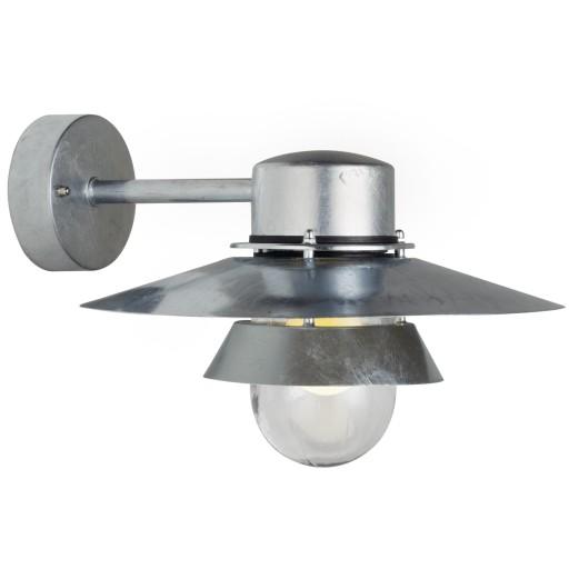 Nordlux Virum 32 Udendørs Væglampe - Galvaniseret