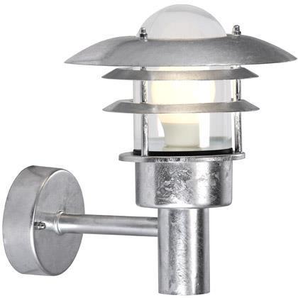 Nordlux Lønstrup 22 Udendørs Væglampe - Galvaniseret